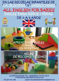 Programa extraescolar 'All English for ...