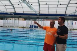 Sañudo inicia en la piscina de Renedo ...