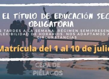 El CEPA de Piélagos abrirá del 1 al ...