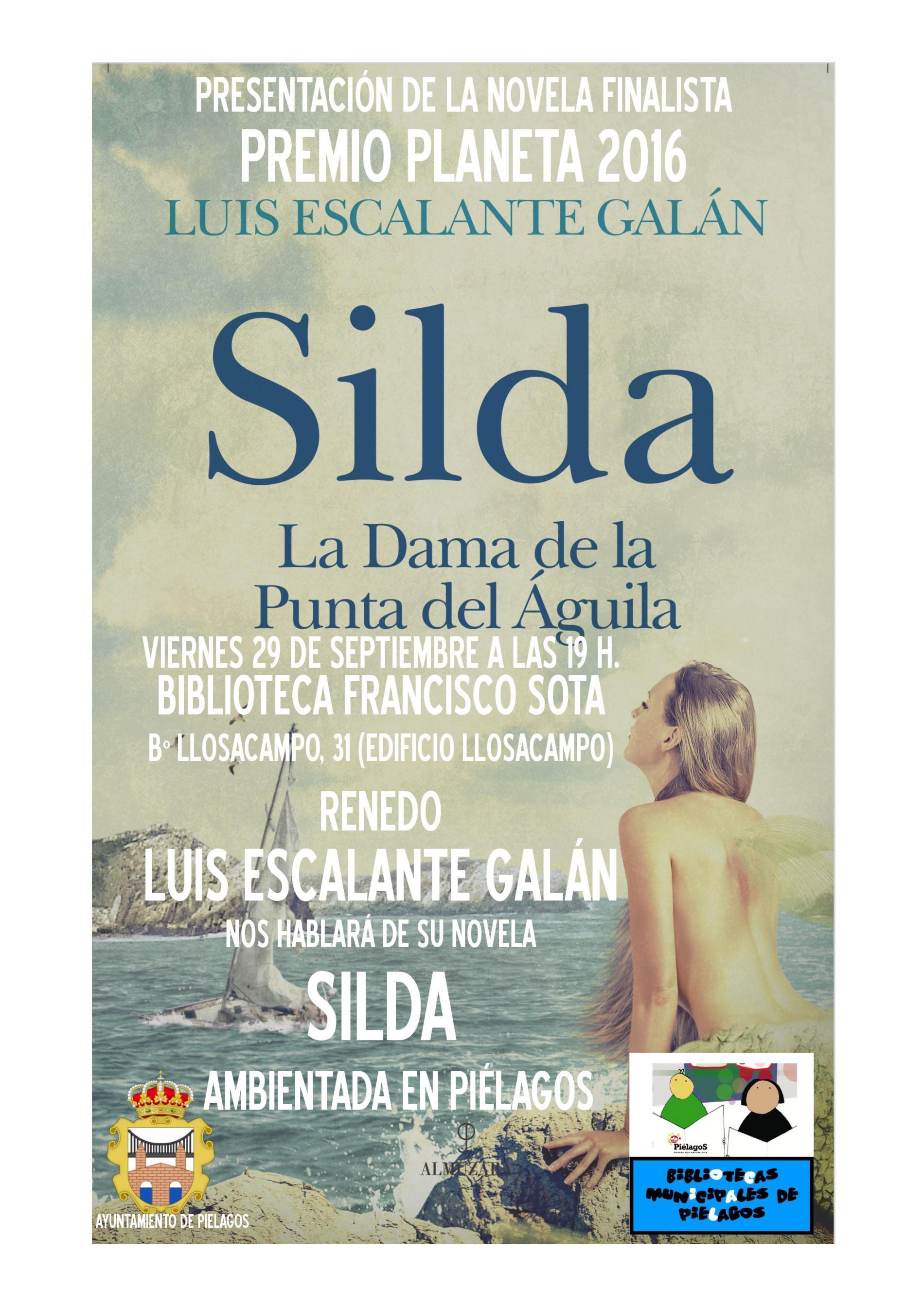 El escritor Luis Escalante presentará su novela 'Silda. La Dama de la Punta del Ángel' el 29 de septiembre en la Biblioteca de Renedo