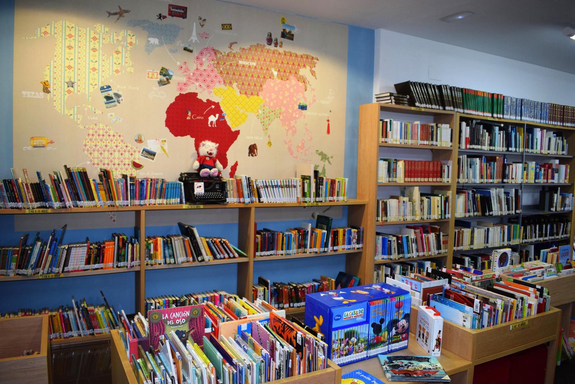 Cerca de medio centenar de novedades llegan este mes de enero a la Biblioteca municipal de Renedo